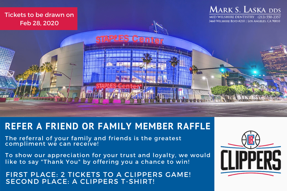 Clippers Tickets Raffle